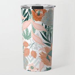 Hawaiian Breeze Florals Travel Mug