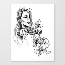 9MM Orchids Canvas Print