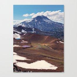 South Sister Mountain Lakes Canvas Print