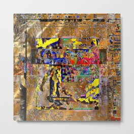 Much Vexation, Late August 2016 Version [Recombinant Series] Metal Print