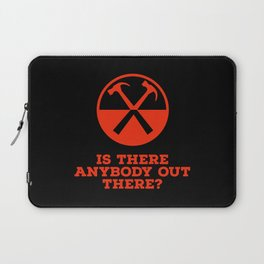 Is there any body out there? (designer) Laptop Sleeve