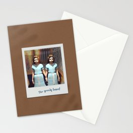 The greedy twins! Stationery Cards