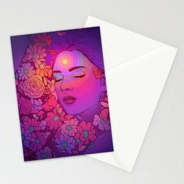 Floral Bath 2 | 2018 Stationery Cards