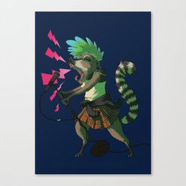C is for Coatimundi Canvas Print