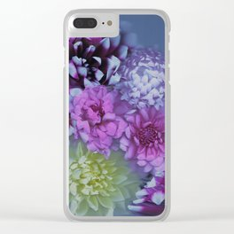 Drenched in Dahlia #2 Clear iPhone Case