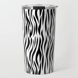 Zebra skin pattern design Travel Mug