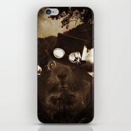 Steampunk Guinea Pig iPhone Skin