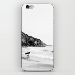 Surfer heads out II iPhone Skin