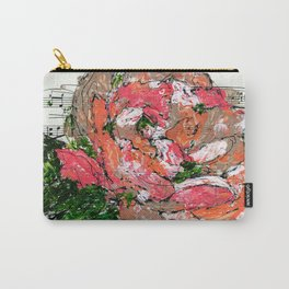 Phantom - Floral - Piano notes Carry-All Pouch