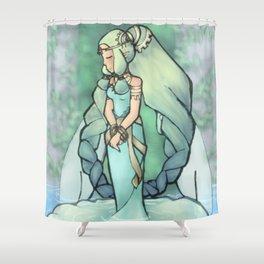 Harvest Goddess Shower Curtain