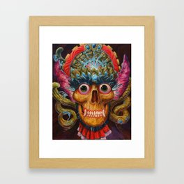 Mana Overlord Framed Art Print