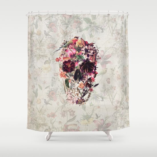 New Skull 2 Shower Curtain