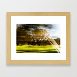 The Speed of Nature Framed Art Print