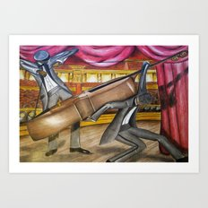 Jazz 2 Art Print