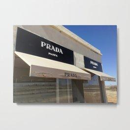 Marfa, TX - Storefront Metal Print