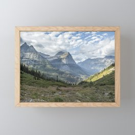 Catching a View from Going to the Sun Road Framed Mini Art Print