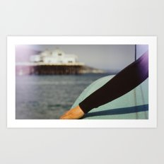 Taylor Nelson - Malibu - Expired 35mm Art Print