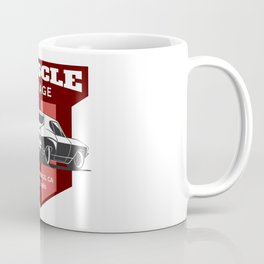 Muscle Car Garage Coffee Mug