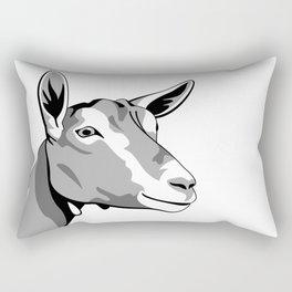Toggenburg Dairy Goat Rectangular Pillow
