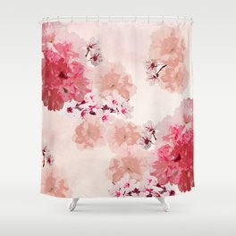 Floral Rage Shower Curtain