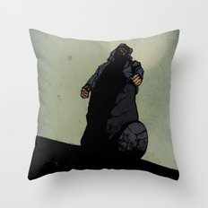 The Menace Throw Pillow