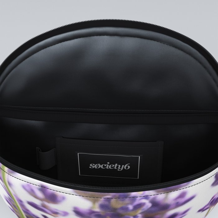 Purple Lavender #1 #decor #art #society6 Fanny Pack