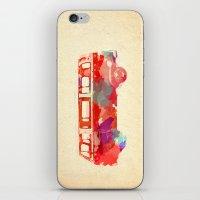 vw iPhone & iPod Skins featuring VW Van  by Stacia Elizabeth
