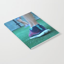Sporty feet Notebook