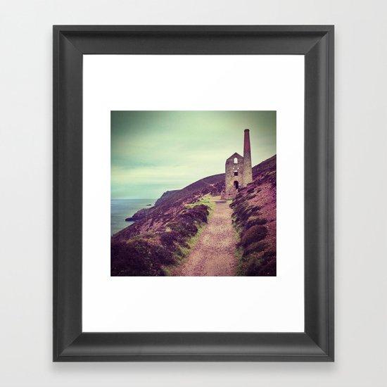 Wheal Coates Mine Framed Art Print