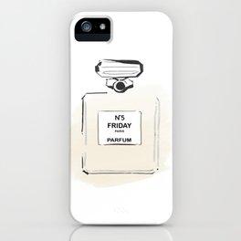 Beige Perfume 3 iPhone Case