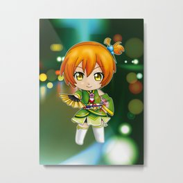 Hanayo - Angelic Angel chibi edit. Metal Print