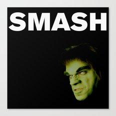 Johnny Smash Canvas Print