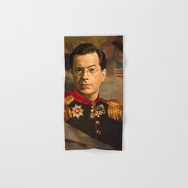 Stephen Colbert 19th Century Classical Painting Hand & Bath Towel