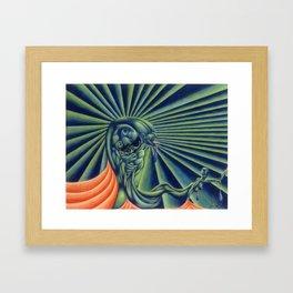 Multiple Personalities Framed Art Print