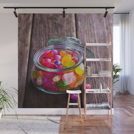 Candy Jar Wall Mural
