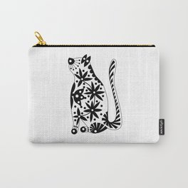 Patterned cat-3 Carry-All Pouch