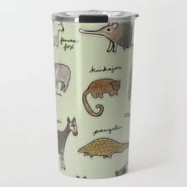 The Obscure Animal Alphabet Travel Mug