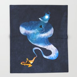 Greater than all the magic Throw Blanket