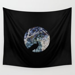 Peacock World Wall Tapestry