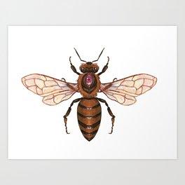 Magic Bee Art Print