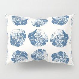 Minimal Patterns - Mexican Primrose Blue Pillow Sham
