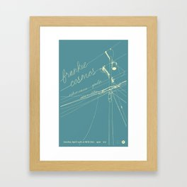 Frankie Cosmos @ Milk Run Framed Art Print