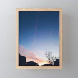 Sunset at Dusk Framed Mini Art Print