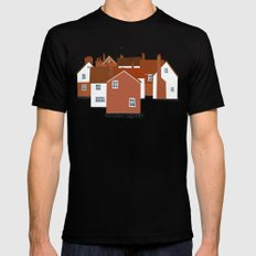 Tunbridge Wells Black MEDIUM Mens Fitted Tee