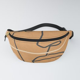 Abstract Face 6 Fanny Pack