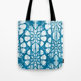 Blue and White Batik  Tote Bag