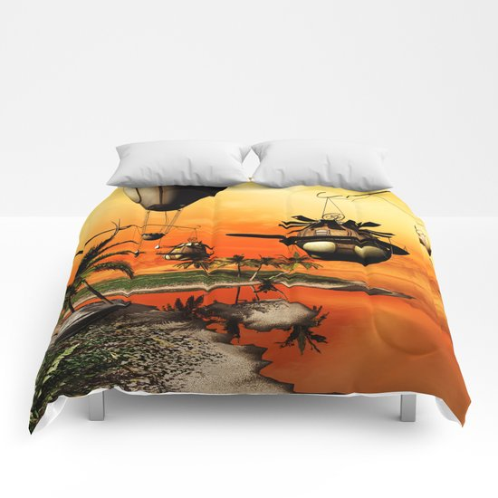 Fantasy world Comforters