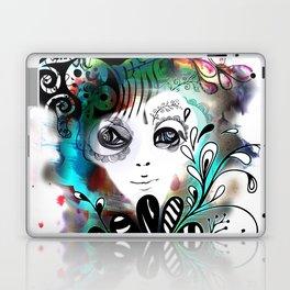 funny girl Laptop & iPad Skin