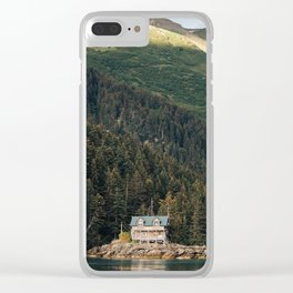 House on Tutka Bay Clear iPhone Case
