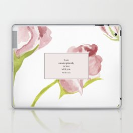I am catastrophically in love with you. Will Herondale. Clockwork Princess. Laptop & iPad Skin